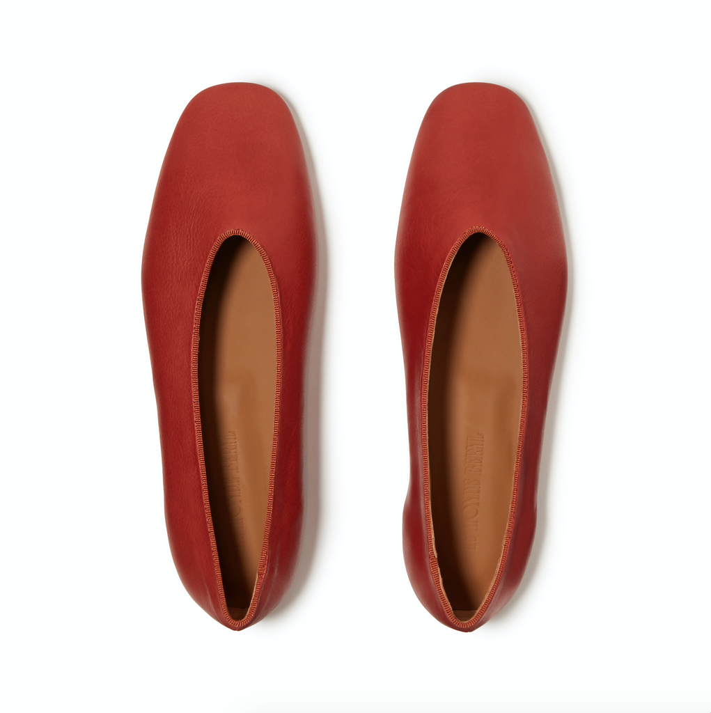 Le Monde Beryl Dark Red Regency Slipper