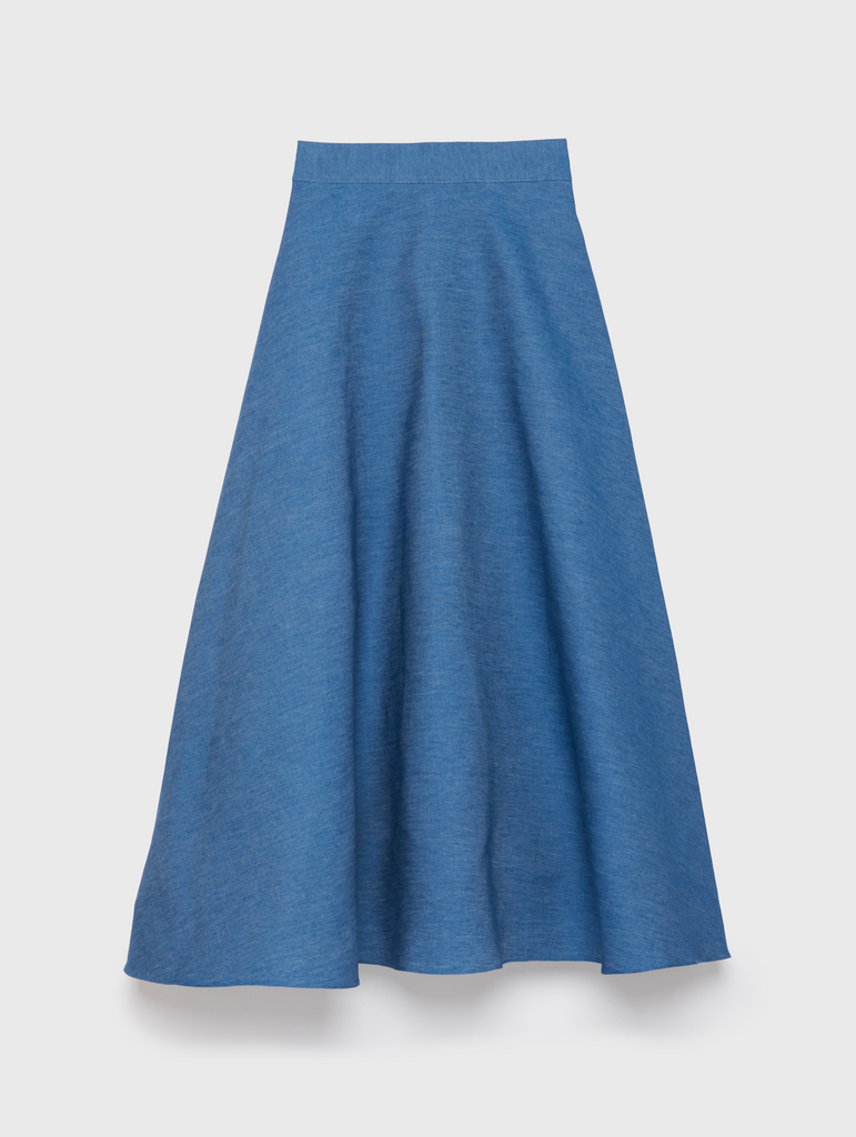ARossGirl❤️Soler Alex Circle Skirt in Denim