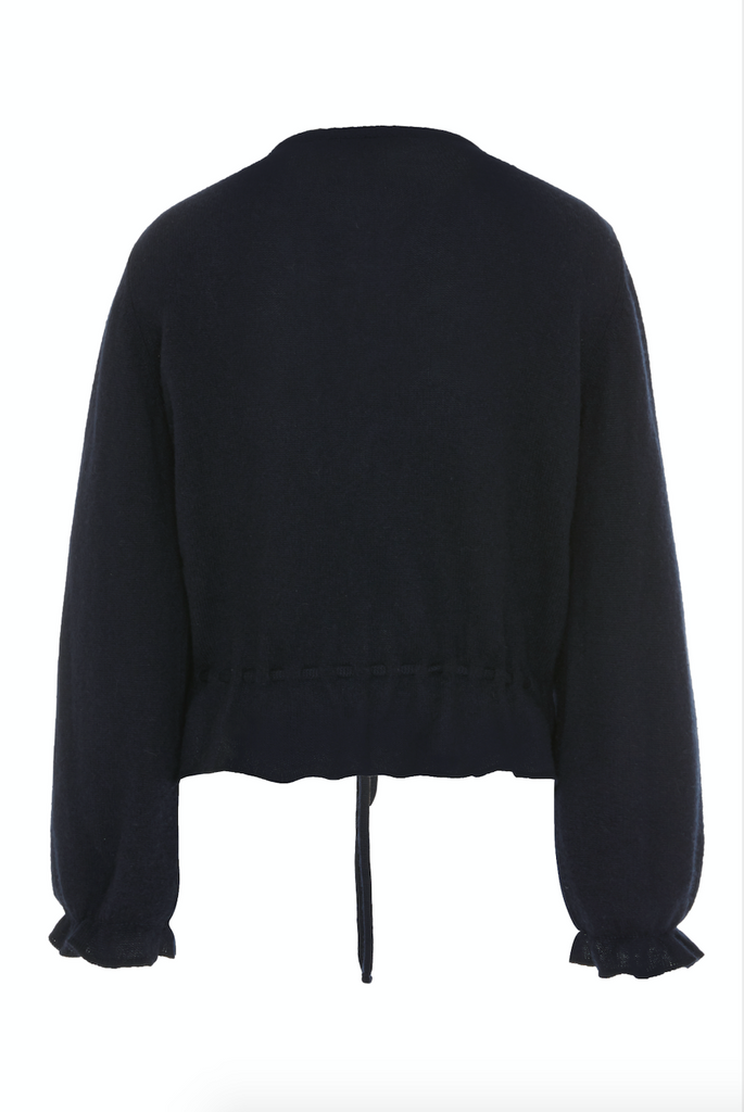 ARossGirl❤️Soler Amanda Cashmere Sweater in Navy