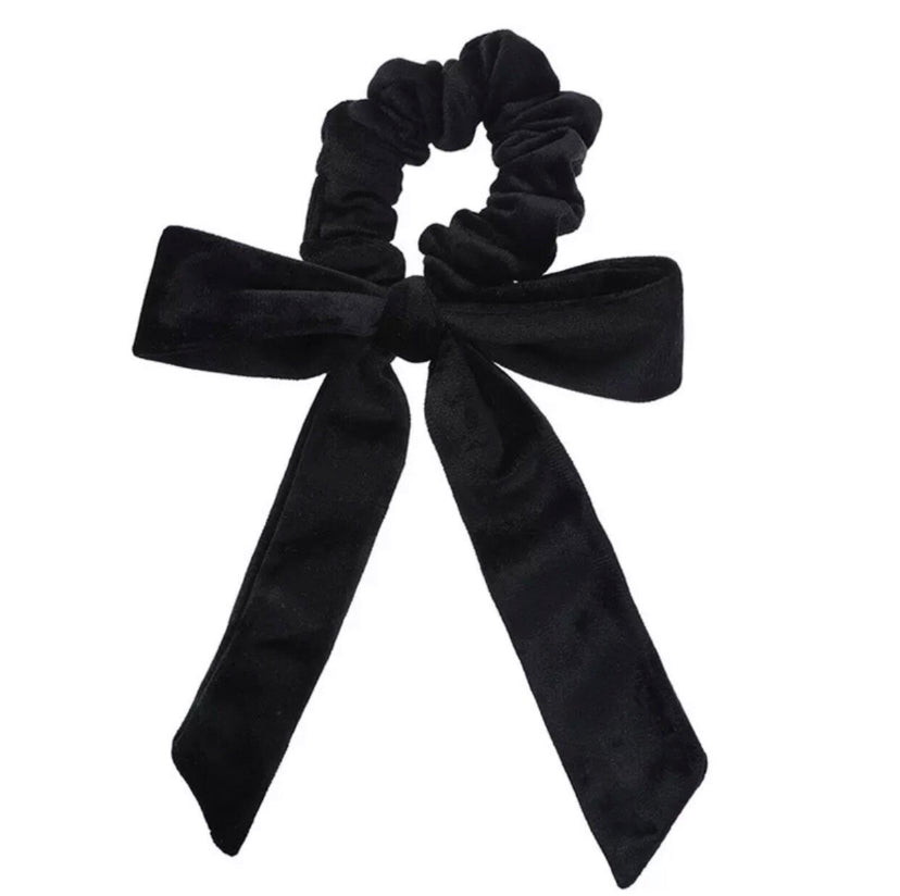 Born in the Sun Black Velvet Bow