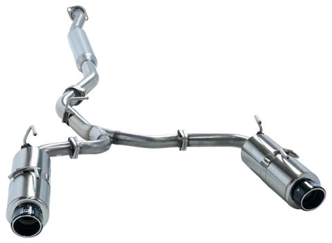 HKS Hi-Power Spec-L Catback Exhaust w/ Carbon Tips - WRX (11-14) & STI (08-14)