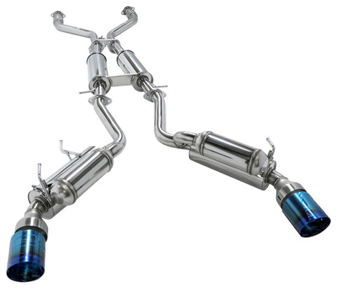 HKS Full Dual Hi-Power Catback Exhaust - 370Z (09-Up)
