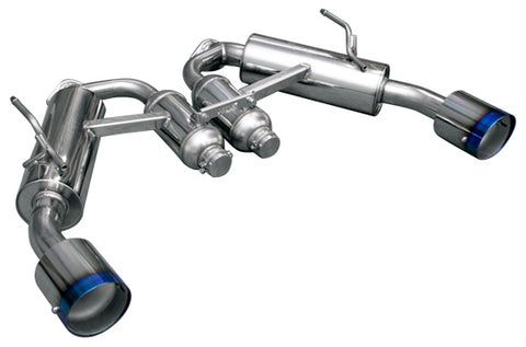 HKS Full Dual Hi-Power Axle Back Exhaust - Q50 (16-Up)