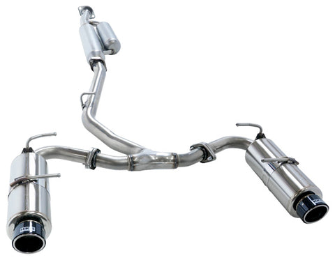 HKS Hi-Power Spec-L Catback Exhaust w/ Carbon Tips - BRZ / FRS / GT86 (13-Up)
