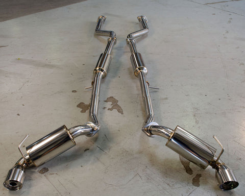 Agency Power Catback Exhaust w/ SS Tips - 370Z (09-Up)