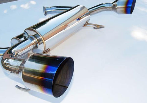 Invidia Gemini Exhaust w/ Single Layer Titanium Tips - 370Z (09-Up)