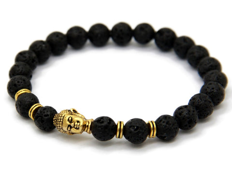 Buddha wristband Black - SAVE 50% TODAY!