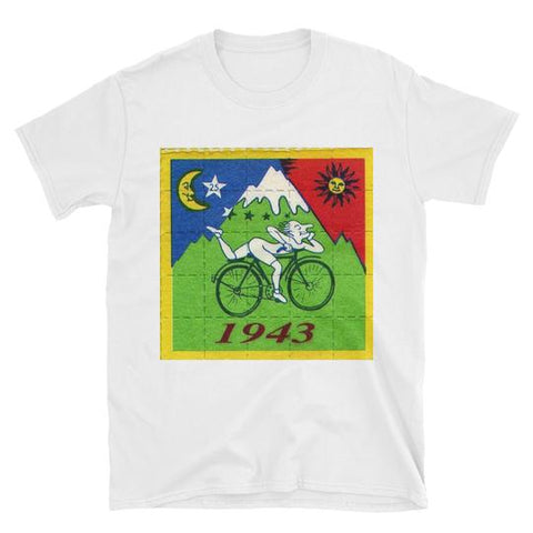 Bicycle Day - Albert Hofmann Shirt + Psychedelic Ebook
