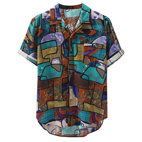 Vintage Artist Shirt - Linen & Cotton