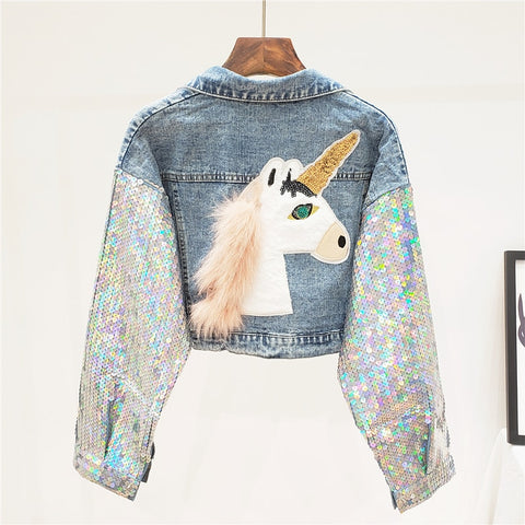 Unicorn Denim Jacket