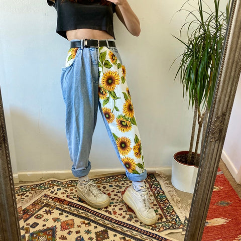 Light Sunflower Vintage Jeans