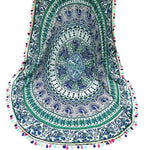 Round Bohemian Yoga/ Beach Towel