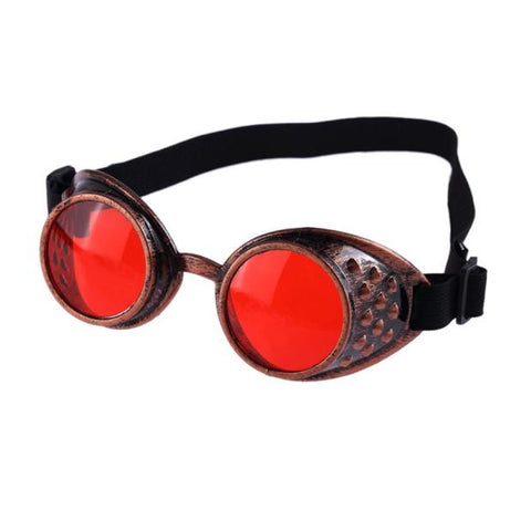 Freaky Steampunk/ Cosplay Goggles - Colored