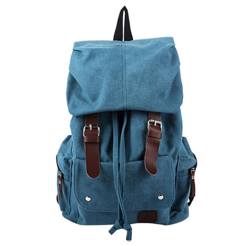 Vintage Backpack French Hobo Style