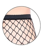 high waist stocking fishnet tighs