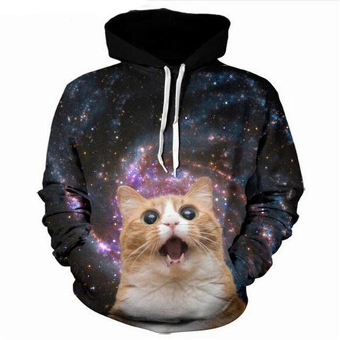Trippy Cat Sweater