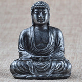 Buddha Statue Sculpture Meditating Antique Style