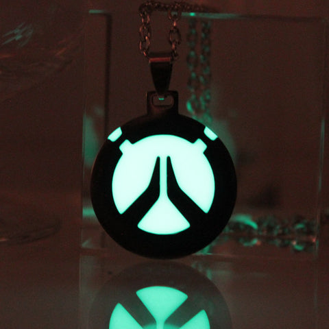 Glow in the Dark Overwatch necklace