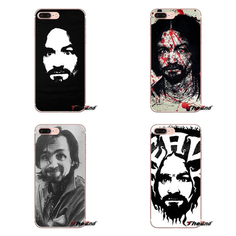 Charles Manson Iphone Cover