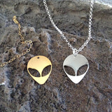 ALIEN PENDANT NECKLACE