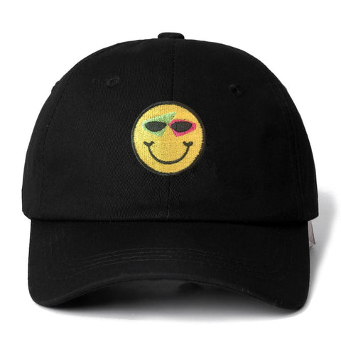 Smiley Snapback Cap