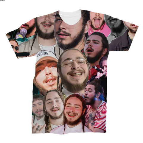 Post Malone Photo Collage T-Shirt