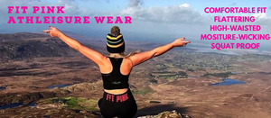 Launching our New Athleisure Wear Label - Fit Pink