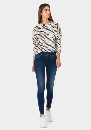 Tiffosi One Size Double up 4 Skinny Jeans
