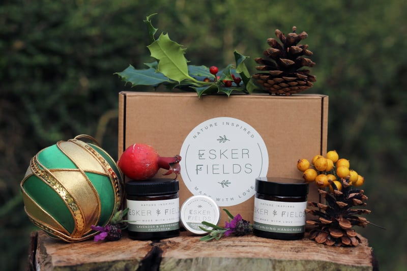 Esker Fields Hand, Foot and Lip Care Gift Set