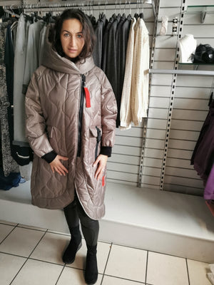 Oversized Stella Blanket Coat One Size