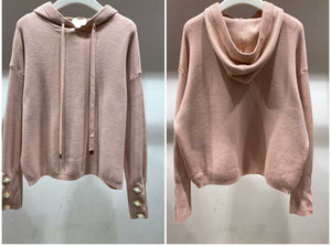 Rebekah Hooded Knit - One Size  Rose(8-14)