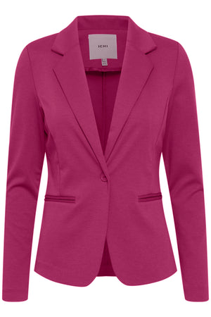 Ichi Fuschia Red Kate Blazer