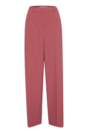 Ichi Baroque Rose Stripe Suit Pants