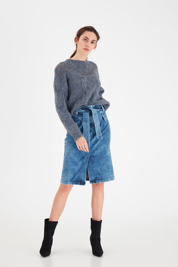 Blue Ichi Knit Jumper