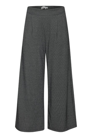 Ichi Knit Check Trousers