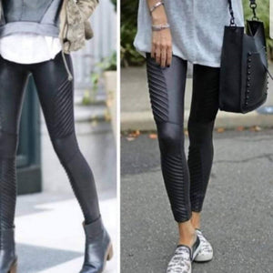 PIPPA Black Biker Leggings