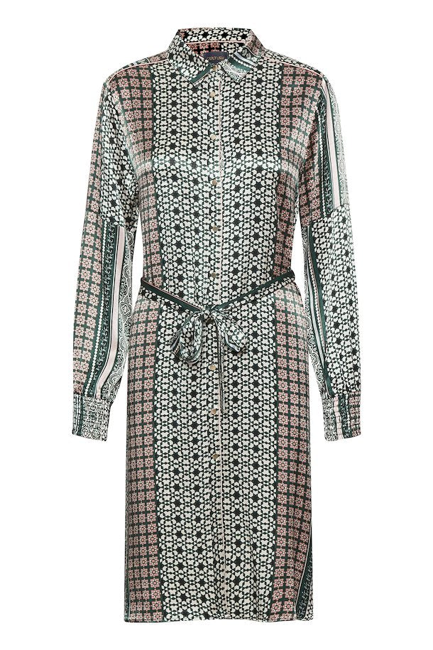 Culture Pine Grove Fadia Button Shirt Dress