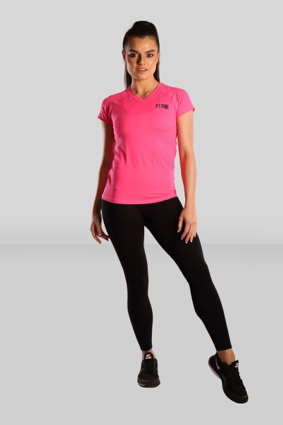 Fit Pink Active T-shirt in Pink
