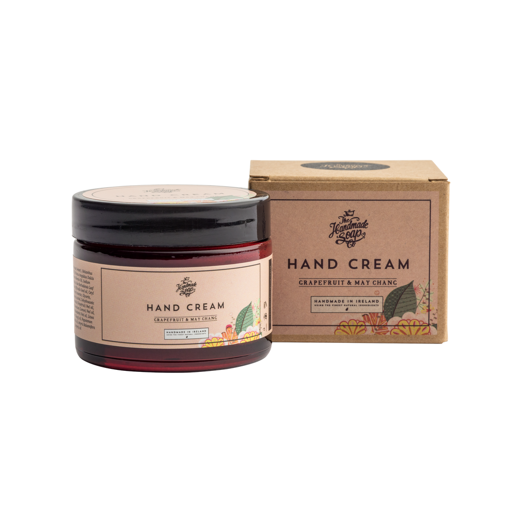 The Handmade Soap Co;  Grapefruit & May Chang Hand Cream (50g)