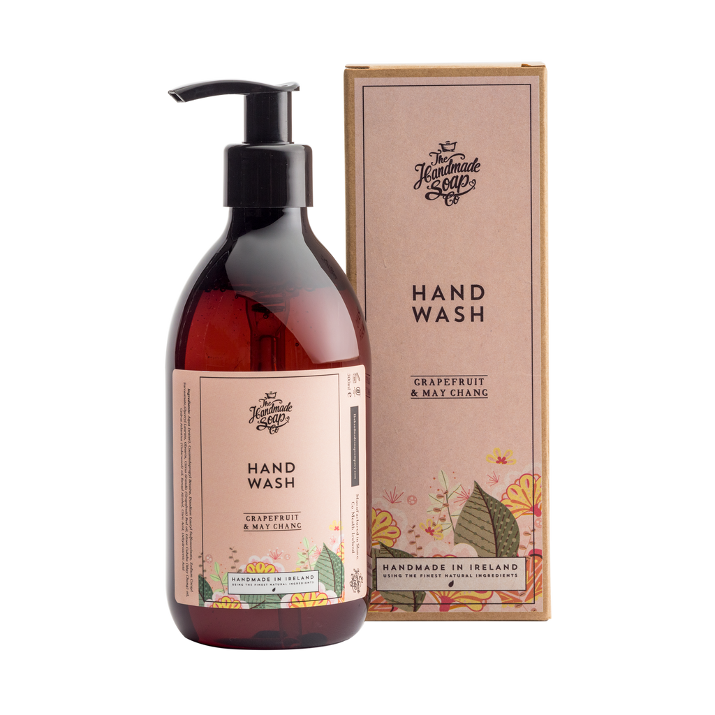 The Handmade Soap Co: Grapefruit & May Chang Hand Wash(300ml)