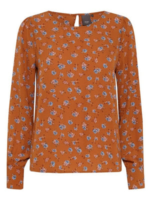Gingerbread Ichi Long sleeved Blouse