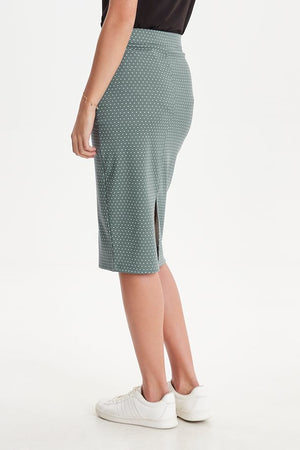 Ichi North Altantic Pencil Skirt