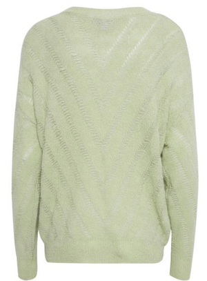 ICHI Mirabell Swamp Knit Pullover