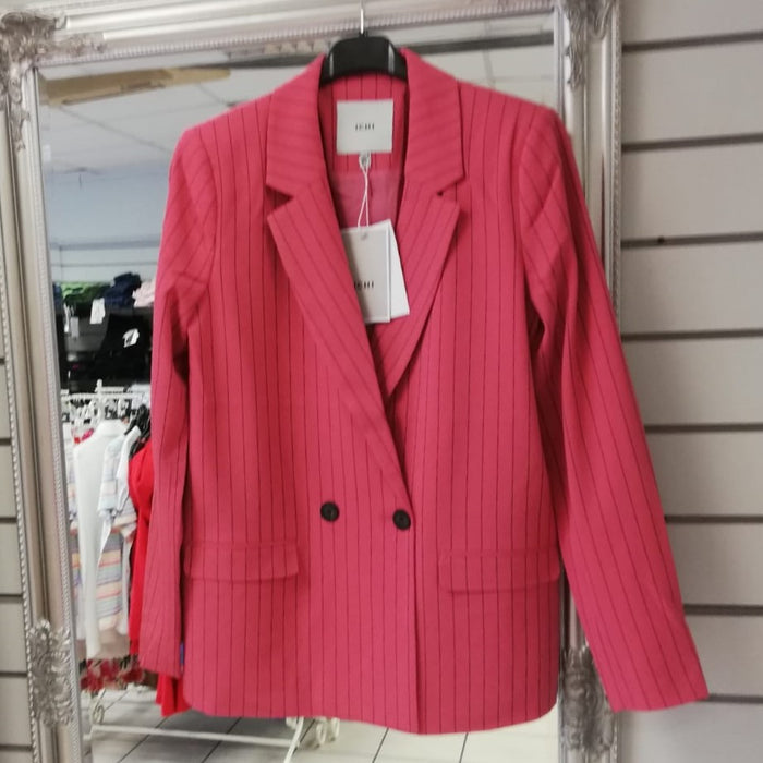 Ichi Baroque Rose Stripe Jacket  / Blazer
