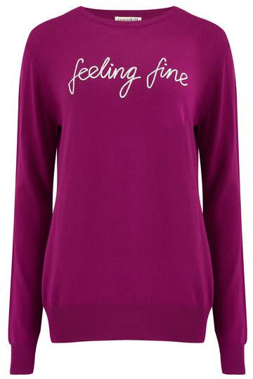 Velma Feeling Fine Sweater Sugarhill Violet