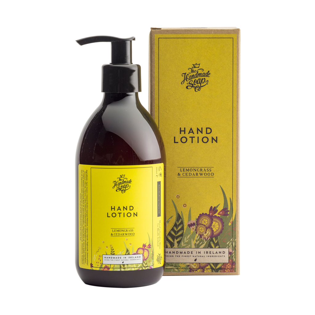 The Handmade Soap Co; Lemongrass & Cedarwood Hand Lotion(300ml)