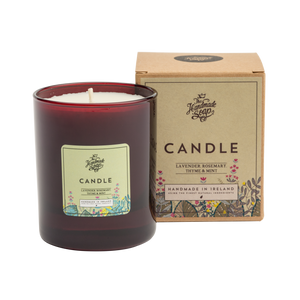 The Handmade Soap Co; Lavender, Rosemary & Mint Candle(190g)