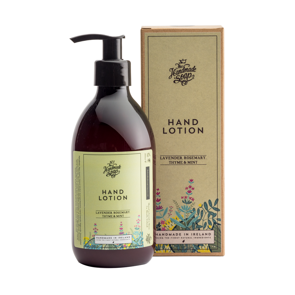 The Handmade Soap Co; Lavender, Rosemary, Thyme & Mint Hand Lotion(300ml)