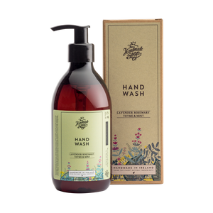 The Handmade Soap Co; Lavender, Rosemary, Thyme & Mint Hand Wash(300ml)