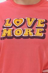 Maggie 'Love More' T-shirt  -  Organic Cotton
